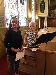 Susan's First Vespers on Saturday, June 17th