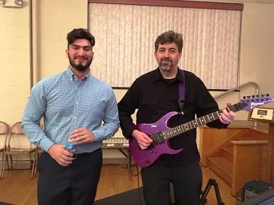 Musicians Fr. David Cowan & Sub-decaon Simeon
